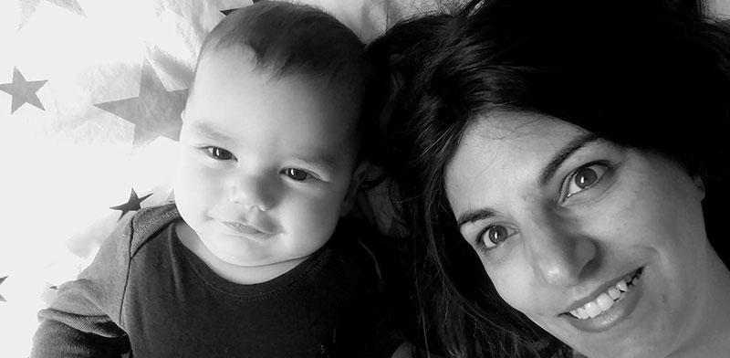 הראל משיח טוכפלד ואמא נעמה / צילום: תמונה פרטית