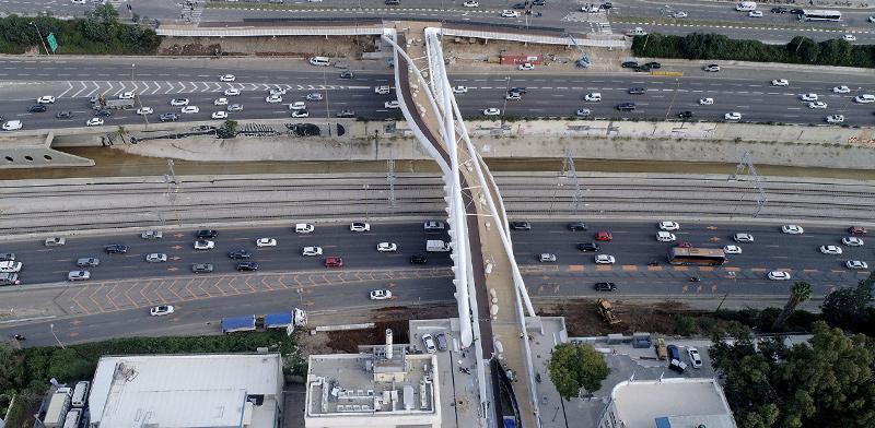 גשר יהודית, שנבנה על ידי קבוצת אורון אחזקות והשקעות / צילום: קבוצת אורון אחזקות והשקעות