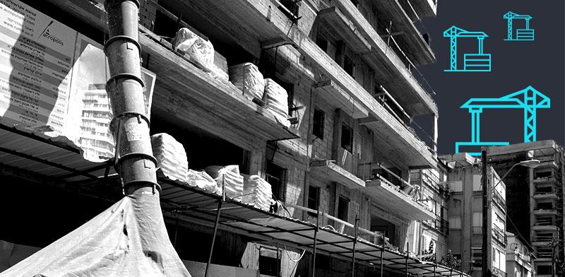 """פרויקטי תמ""""א 38 ברחוב ברמת גן. כתבות הנדל""""ן שעשו את השבוע / צילום: תמר מצפי"""