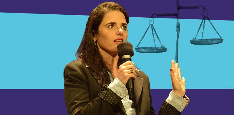 שרת המשפטים לשעבר איילת שקד / צילום: כדיה לוי