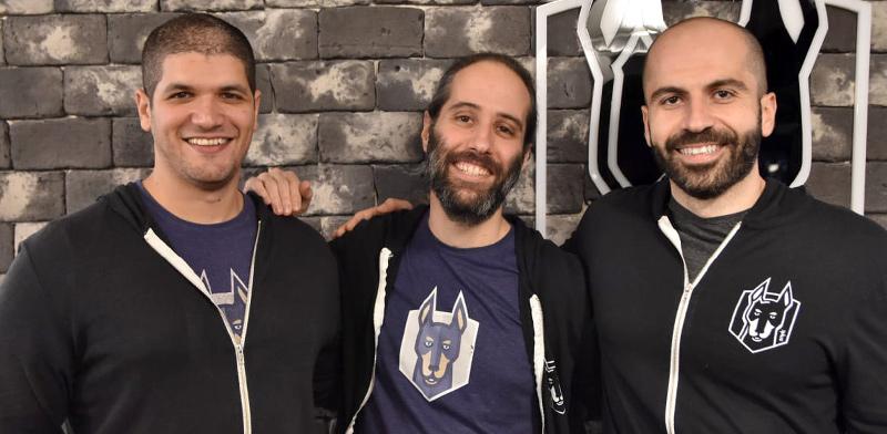 מייסדי סניק: אסף חפץ, דני גרנדר, וגיא פודחרני  / צילום:  Snyk
