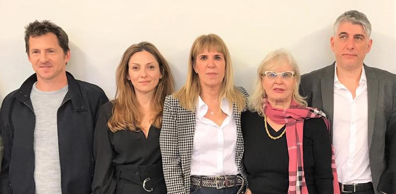 """ד""""ר גוין סאס, רינה בנבנישתי, אורית בנבנישתי, אפרת ידיד בן עזרא וצחי טולדנו / צילום: טל שובל"""