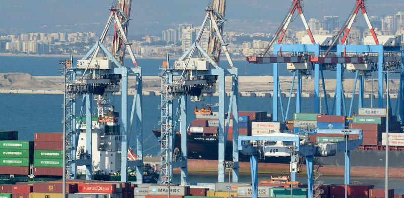 Port of Haifa / Photo: Eyal Izhar, Globes