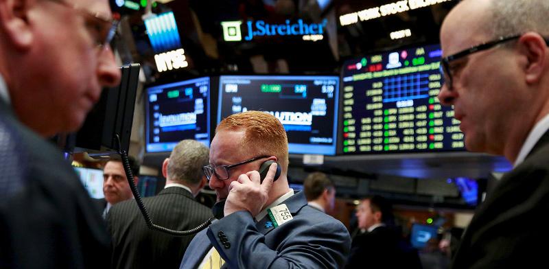 סוחרי מניות בבורסת ניו יורק  / צילום: Lucas Jackson , רויטרס