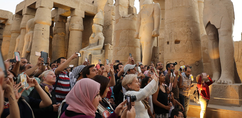 Tourists in Egypt / Photo: Mohamed Abd El Ghany Reuters , Reuters