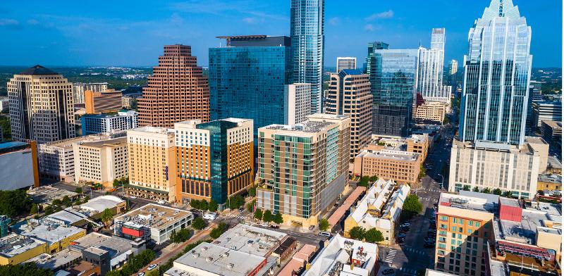 אוסטין, טקסס. צפוי גידול באוכלוסייה / צילום: shutterstock, שאטרסטוק