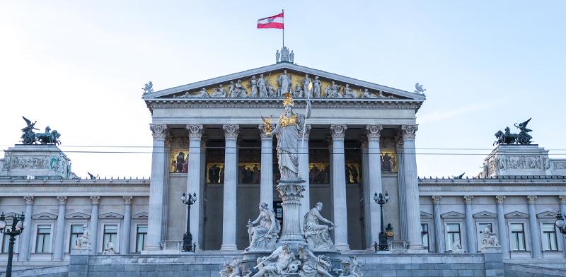 בניין הפרלמנט האוסטרי בוינה / צילום: shutterstock