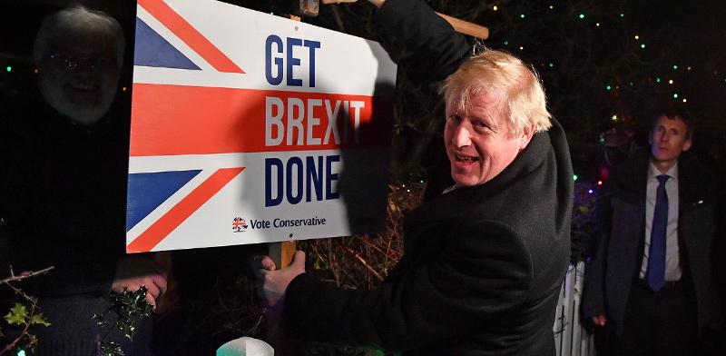 ראש ממשלת בריטניה, בוריס ג'ונסון / צילום: רויטרס