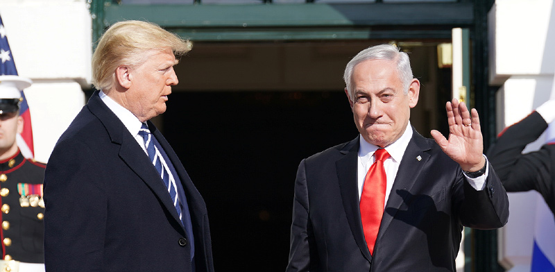Netanyahu and Trump / Photo: Reuters Kevin Lamarque