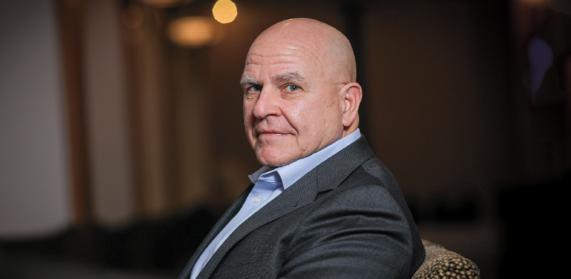 H. R. McMaster  / Photo: Shlomi Yosef