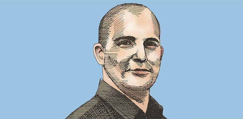 צחי נחמיאס, בעל השליטה במגה אור / איור: גיל ג'יבלי, גלובס