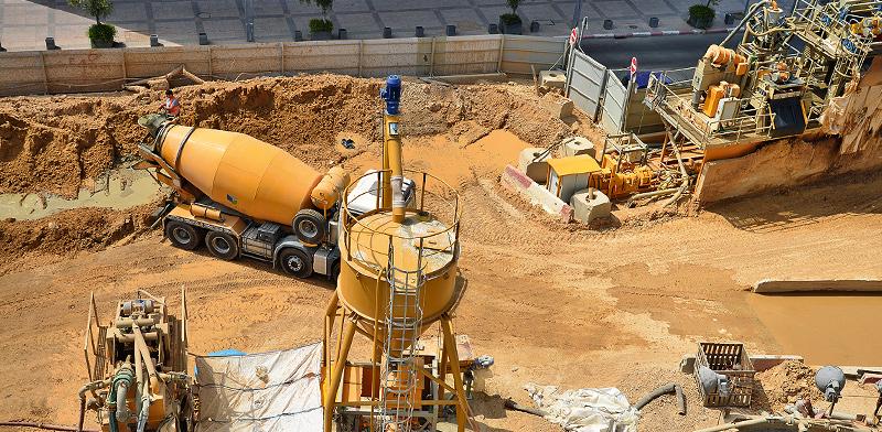 עבודות תשתית בתל אביב / צילום: תמר מצפי