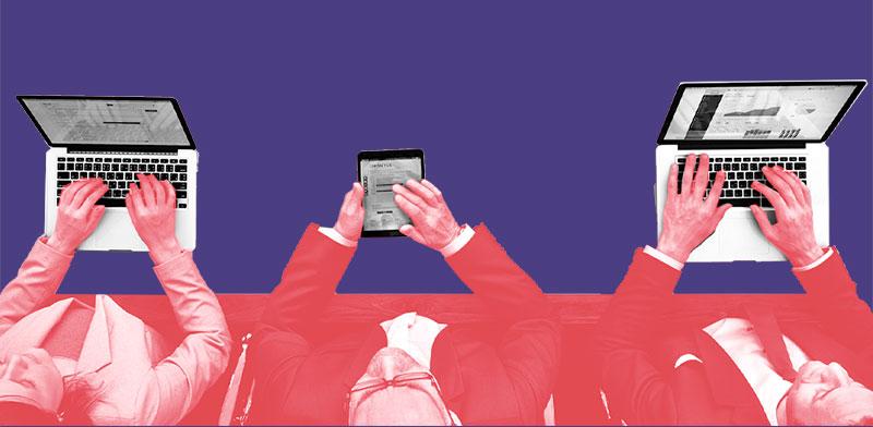 אמון הציבור בתקשורת / אילוסטרציה: טלי בוגדנובסקי