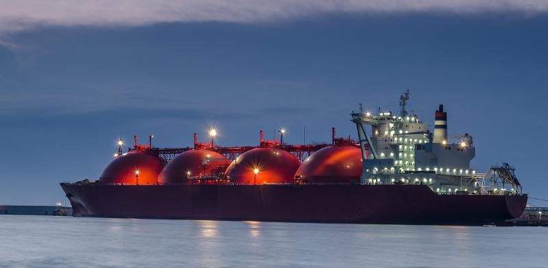 אוניית גז / צילום: shutterstock