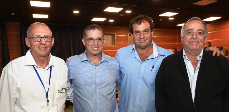 מימין: אילן אורן, אייל בלום, רן גוראון ואילון גדיאל / צילום: פביאן קולדורף