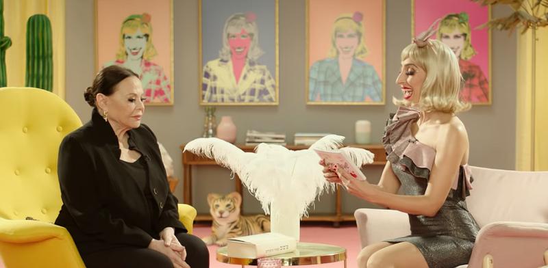 שני כהן וגילה אלמגור בפרסומת של 9 מיליון / צילום: צילום מסך מיוטיוב
