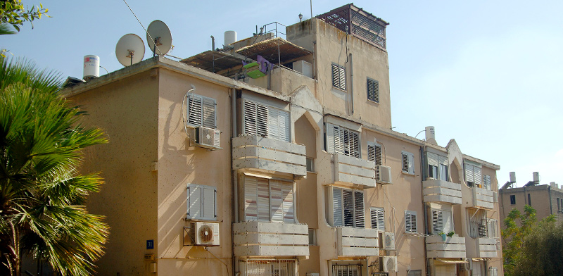 מתחם לפינוי בשכונת נווה דוד, חיפה / צילום: פאול אורלייב