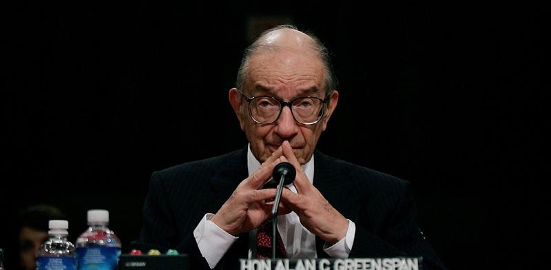 """יו""""ר הפדרל ריזרב לשעבר, אלן גריספן / צילום: Pablo Martinez Monsivais, Associated Press"""