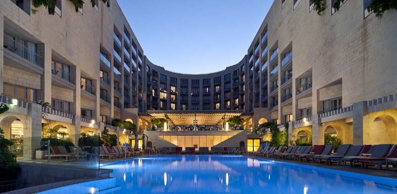 """מלון מצודת דוד של אלרוב / צילום: יח""""צ"""
