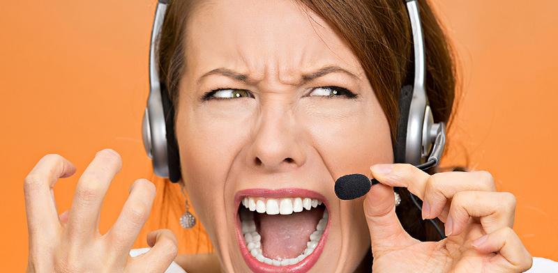 העומס הרגשי של עובדי שירות לקוחות / אילוסטרציה: shutterstock