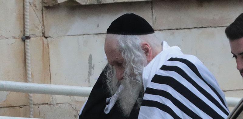 הרב אליעזר ברלנד / צילום: יוסי זמיר