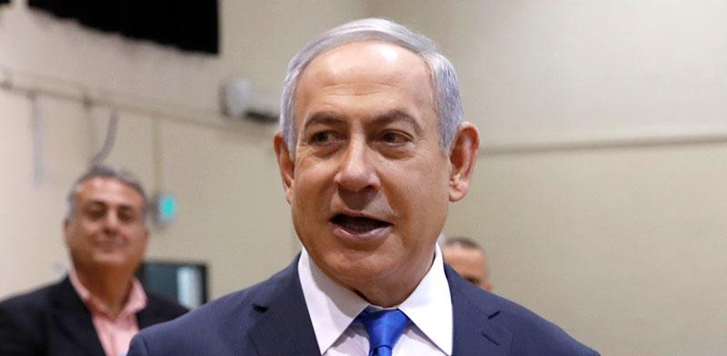 ראש הממשלה בנימין נתניהו / צילום: Atef Safadi, Associated Press