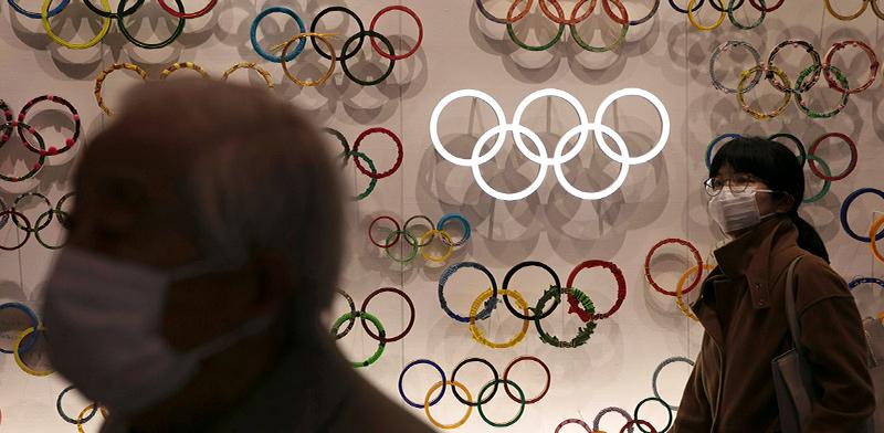 הכניסה למוזיאון האולימפיאדה החדש בטוקיו ביפן, החודש / צילום: Jae C. Hong, Associated Press