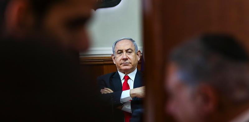 ראש הממשלה בנימין נתניהו. משפטו יידחה למאי / צילום: Oded Balilty, Associated Press