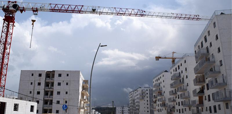 פרויקט בנייה בגבעת אברהם בבית שמש / צילום: בר אל