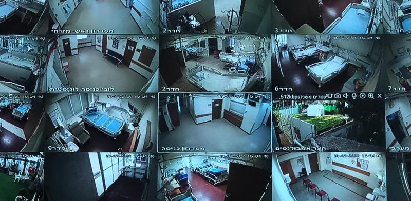 מחלקה ייעודית לחולי קורונה בבית חולים השרון / צילום: רמי זרנגר