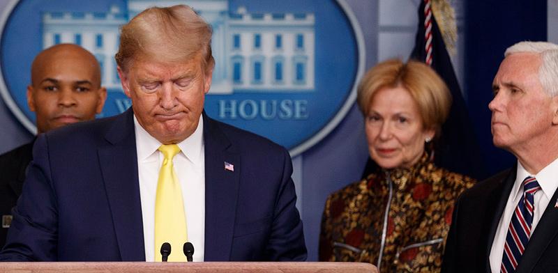 "נשיא ארה""ב דונלד טראמפ / צילום: Carolyn Kaster, Associated Press"