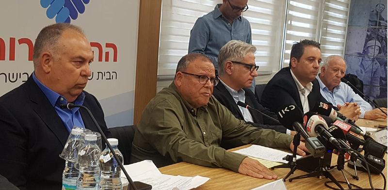 """יו""""ר ההסתדרות בר-דוד / צילום: תמר מצפי, גלובס"""