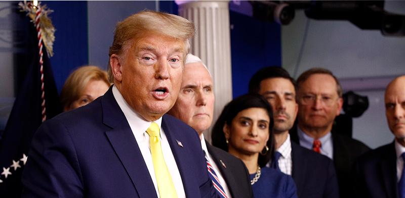 """נשיא ארה""""ב דונלד טראמפ / צילום: Associated Press"""