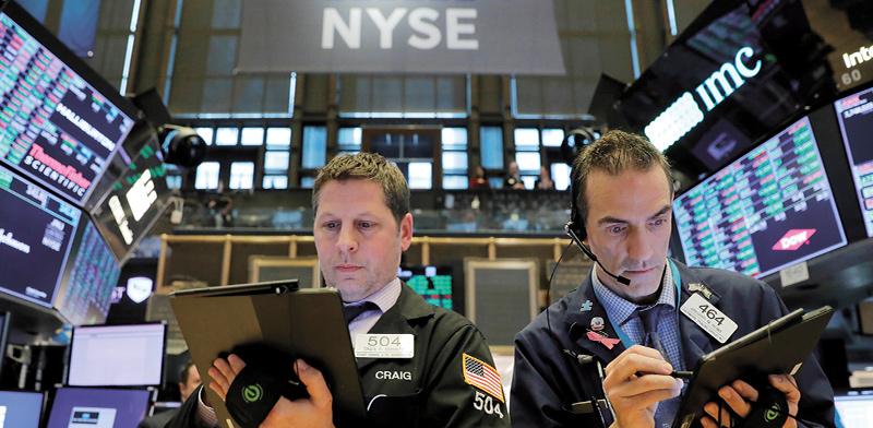 בורסת NYSE / צילום: Andrew Kelly, רויטרס