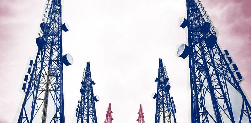 אנטנות סלולריות / צילום: shutterstock