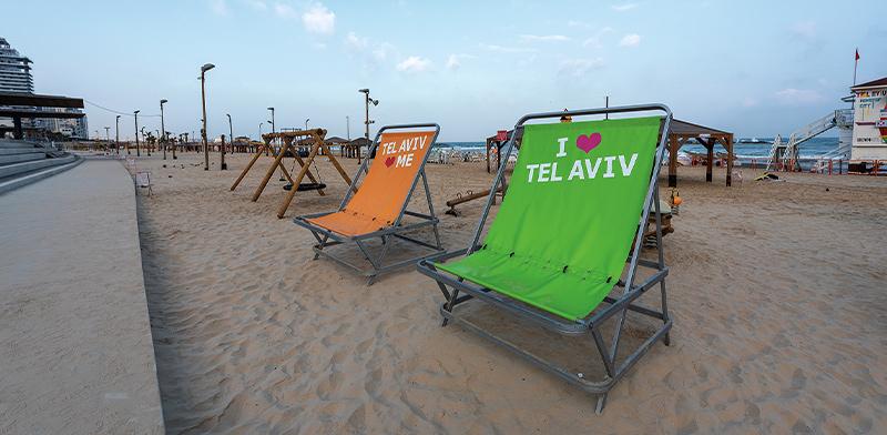 חוף הים של תל אביב ריק / צילום: shutterstock
