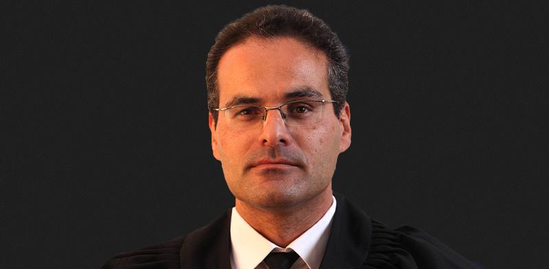 השופט אלון גביזון, נשיא בית המשפט השלום בבאר-שבע / צילום: אתר בית המשפט
