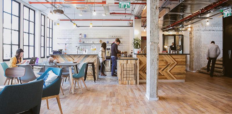 משרדי WeWork בתל אביב / צילום: שירן כרמל