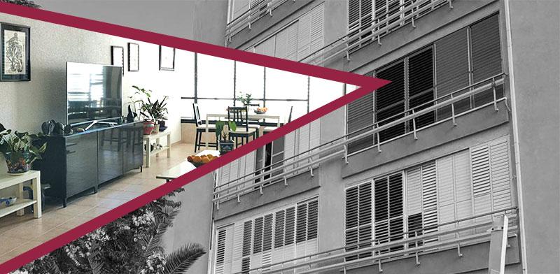 """דירת 3.5 חדרים בנתניה ב–1.5  מיליון שקל / צילום: יח""""צ"""