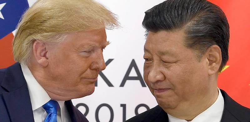 שִי ג'ינפינג ודונלד טראמפ  / צילום: Susan Walsh
