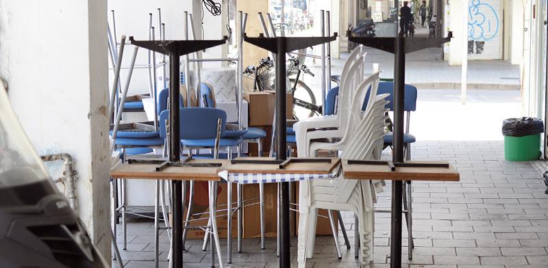 מסעדה סגורה בתל-אביב / צילום: איל יצהר, גלובס