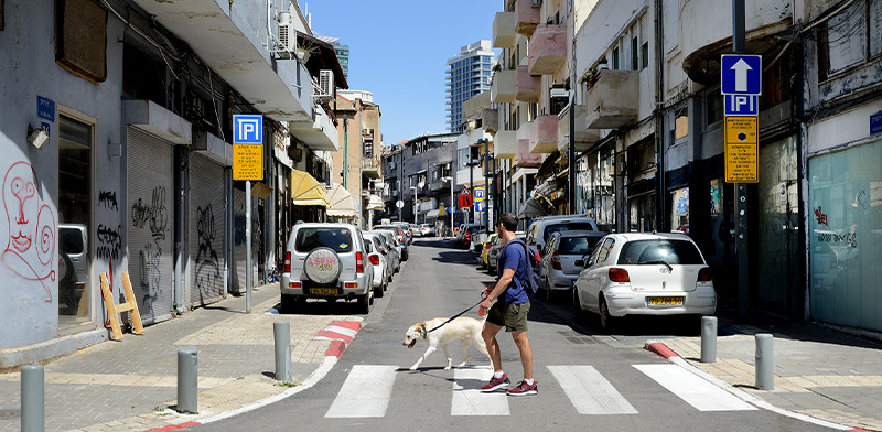 Tel Aviv in lockdown  / Photo: Eyal Izhar, Globes