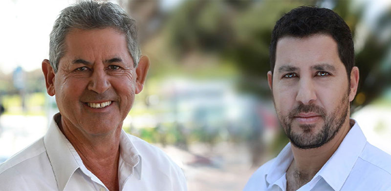 Barry Shaked and Nadav Solomon  / Photo: Ilan Besor
