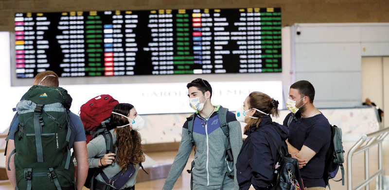 Israeli backpackers return home / Photo: Reuters