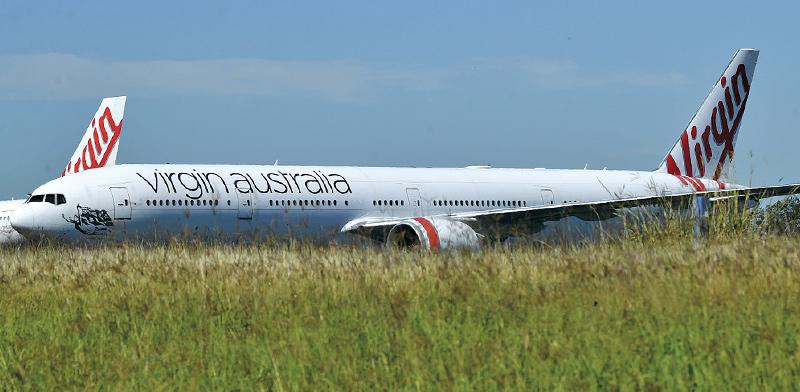 מטוס של חברת וירג'ין אוסטרליה / צילום: DARREN ENGLAND, רויטרס