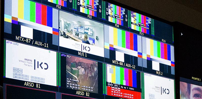 """משרדי תאגיד השידור הציבורי """"כאן 11"""" / צילום: שלומי יוסף, גלובס"""