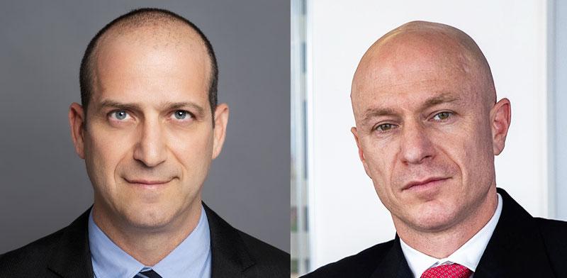 Migdal CEO Ran Oz, Clal Insurance Co CEO Yoram Naveh / Photo: PR, Kadia Levy