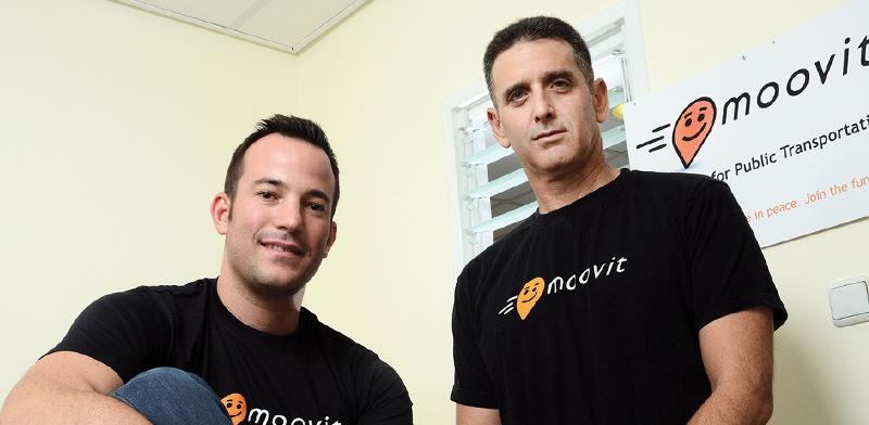ניר ארז ורועי ביק, ממייסדי חברת מוביט / צילום: איל יצהר, גלובס