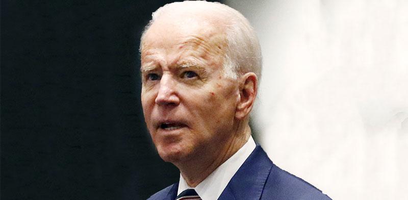 """נשיא ארה""""ב ג'ו ביידן / צילום: Rogelio V. Solis, AP"""