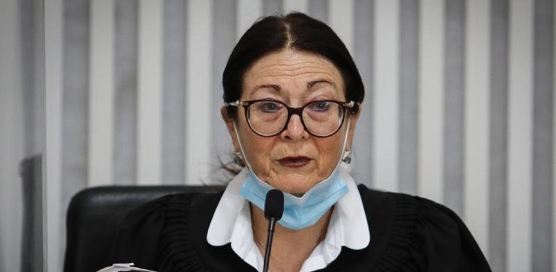 נשיאת בית המשפט העליון, השופטת אסתר חיות / צילום: אורן בן חקון, פול